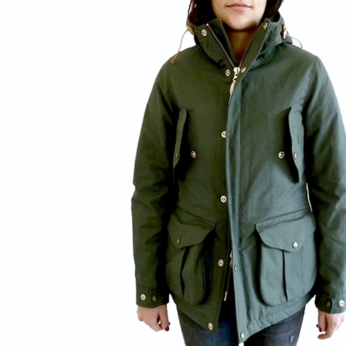 My Life Jacket Woman Cotton- Green