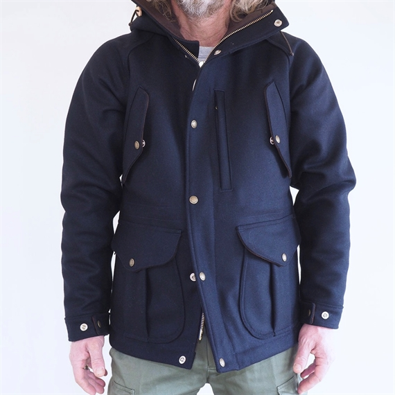 My Life Jacket Wool - Navy